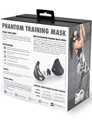 Phantom Athletics Trainingsmaske Box