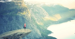 Lungenvolumen verbessern Freiheit auf Berg von Trainingsmasken Test