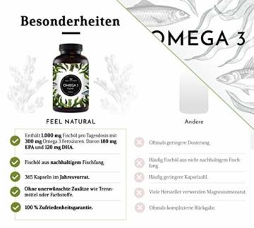 Lungenvolumen verbessern mit Omega 3 Zutaten